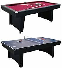 triumph sports pool table amazon com triumph phoenix 7 billiard table with table tennis