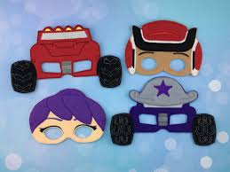monster truck masks felt children u0027s masks dress