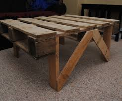pallet coffee table with pictures