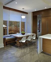 toronto lowes kitchen design contemporary with banquette seating