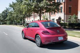 light pink volkswagen beetle this pink vw beetle raised over 30 000 for breast cancer research