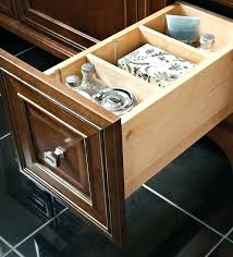 deep drawer organizer bathroom how to organize hair brushes and