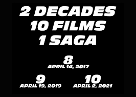 fast and furious 9 and 10 dates confirmed