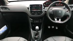 peugeot 208 gti inside used peugeot 208 gti prestige for sale rac cars