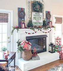 Home Interior Catalog Farmhouse Mantel Decorating Ideas Interior Designs Medium Size