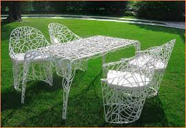 Old Metal Outdoor Furniture by Vintage Metal Patio Furniture Ideas All Home Decorations