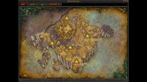 World Of Warcraft Map Wow Ptr 7 3 Mac U0027aree Zone Opens Blizzplanet Warcraft
