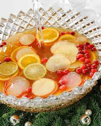 Party Cocktails Punch - holiday punch recipes martha stewart
