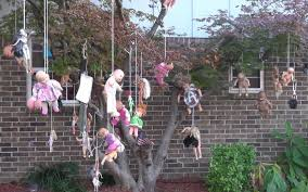 decorating home for halloween halloween decorations deemed too scary for neighborhood aol news