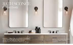 All Bath Lighting RH - Bathrooms lighting