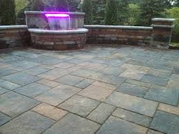 Patio Pavers Prices Driveway Pavers Cost The Initial Cost Of Sted Concrete And