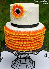 cakes candy and flowers candy corn cake a cake decorating blog tutorial my cake