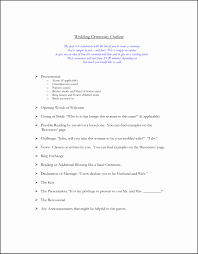 sle of a wedding program sle wedding vows wedding ideas 2018