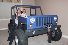 jeep bunk bed funky truck bunk bed with desk kid fire bunk bed