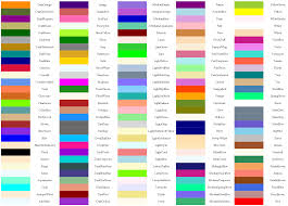 list of colours color list 28 images how to best communicate color names to