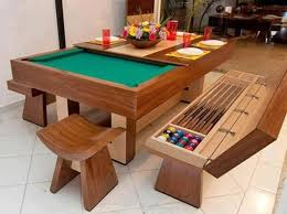 Stunning Pool Table Dining Room Table Pictures Room Design Ideas - Pool table disguised dining room table