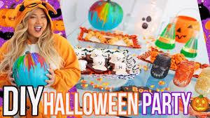diy halloween party treats u0026 decor youtube