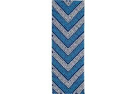 2 X 6 Rug Blue Colored Rugs