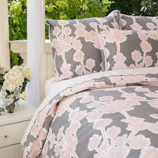 blush duvet cover the valencia pink crane u0026 canopy