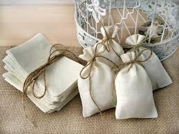 burlap wedding favors 50 sets burlap bags rustic wedding favors bag with jute twine