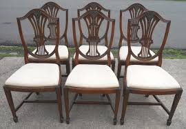 mahogany dining room furniture set of 6 victorian mahogany dining chairs the merchant dining room