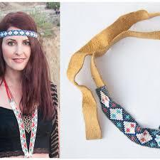 beaded headband best tribal beaded headband products on wanelo