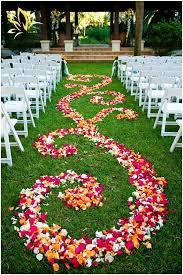 petal aisle runner flower petal aisle runner the knot