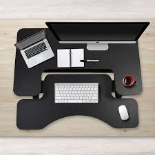 stand up desk multiple monitors shop for fitmate standing desk 36 height adjustable stand up desk