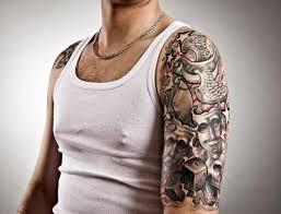 male half sleeve tattoo designs upper sleeve tattoo designs upper