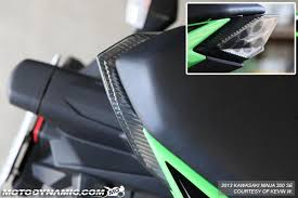 ninja 300 integrated tail light motodynamic sequential led tail light kawasaki ninja 300 smoke