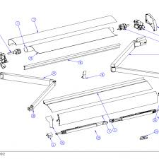 Rose Awnings Thule Omnistor 6002 Awning Spare Parts By Rose Awnings
