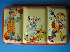 big watercolor kids tin boxes pesquisa google a arte dos