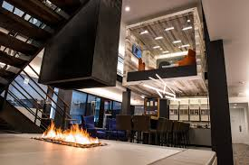 Indoor Firepit Modern Gas Fireplaces Contemporary Gas Fireplace Designs By Acucraft