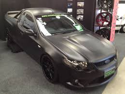 matte black ford falcon ute matte black monsters pinterest