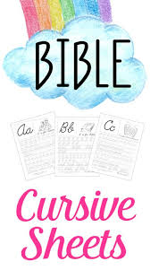 free cursive handwriting worksheets bible abc cursive handwriting