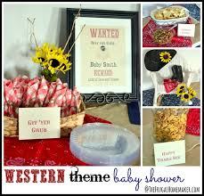 western baby shower western theme baby shower gender neutral
