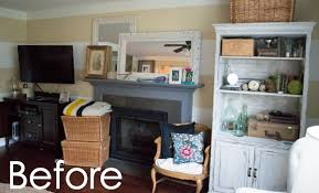 Bookshelves Around Window Diy Built In Bookcase Around Fireplace Do It Your Self