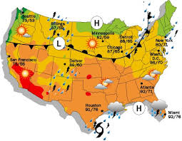 weather usa map us daily weather map maps of usa