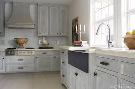 grey distressed kitchen cabinets distressed kitchen cabinets cottage kitchen janie molster design