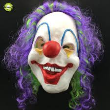 scary clown halloween mask compare prices on halloween scary clown costumes online shopping