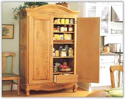 Free Standing Kitchen Storage by Pantry Cabinet Kitchen Pantry Cabinet Plans Free With Wood