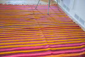 Pink Stripe Rug 2 2 5 American Sarouk Rug Mat Westchester Ny Rugs