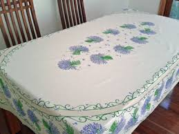 beautiful table cloth design coated tablecloths from provence