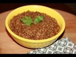 comment cuisiner les lentilles recette entrée de lentilles recettes maroc