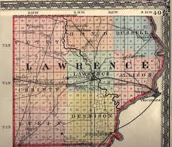 Champaign Illinois Map by Lawrence County Illinois Maps And Gazetteers
