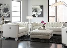 White Living Room Chair Modern Living Room Furniture