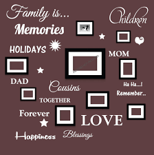 family is words wall art quote vinyl stickers for picture frames family is words wall art quote vinyl stickers for picture frames type 2 ebay