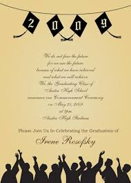 graduation party invitation template with many template samples