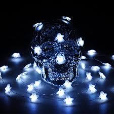 halloween ghost string lights amazon com halloween led string lights impress life ghost string