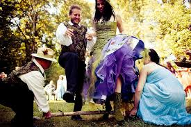 jumping the broom wedding jumping the broom besom weddings